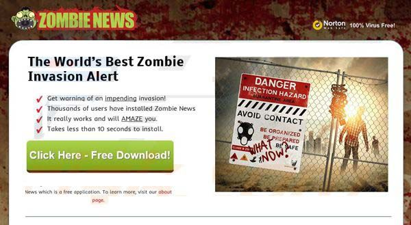 One of the best way to remove Zombie News Adware from your computer is to use advanced Automatic Zombie News Adware Removal Tool.