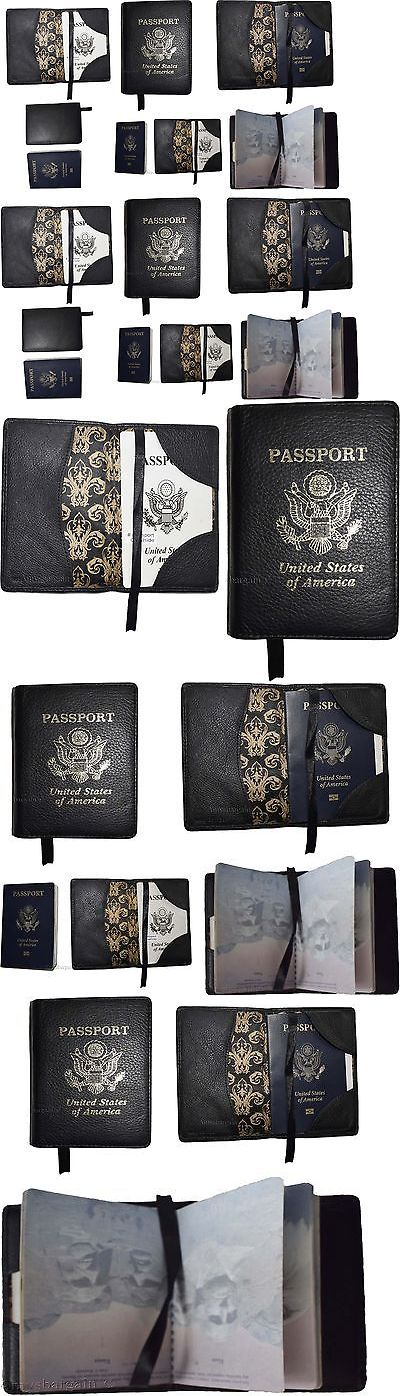Passport Holders 163584: Lot Of 12 New Leather Passport Cover Black Unbranded International Passport Case -> BUY IT NOW ONLY: $84.95 on eBay!