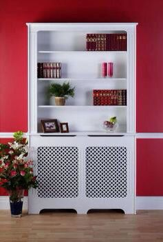 This Is Clever, Shelves On Top Of A Radiator Cover · Heizkörper  RegalKühlerabdeckungKlassische WeißeHof IdeenMöbel ...
