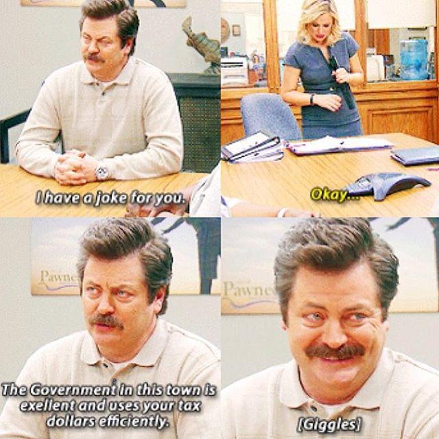 Ron's laugh