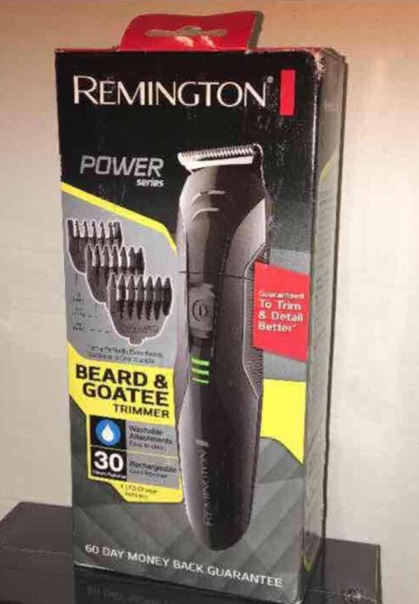Remington Beard And Goatee Rechargeable Trimmer New In Box  | eBay