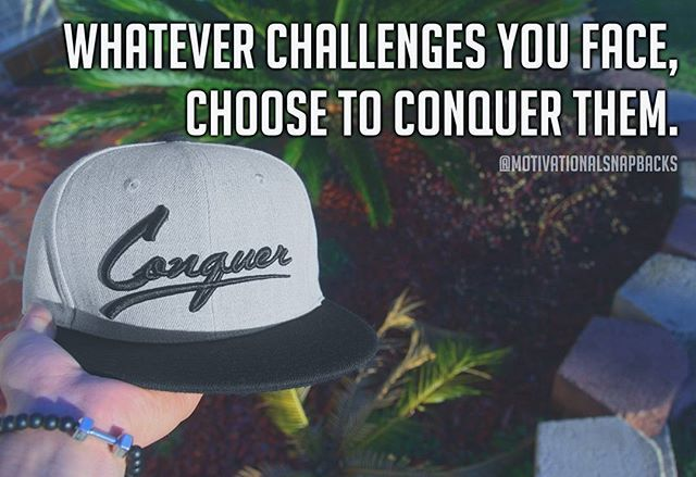 The greatest challenge in life is in conquering yourself. This can be conquering any obstacles and fears that have held you back from your true…