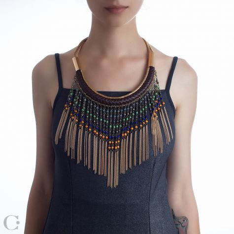 Statement :: Coliere Statement :: Colier Zihna - Zihna Statement Necklace :: See more at www.cassandras.ro