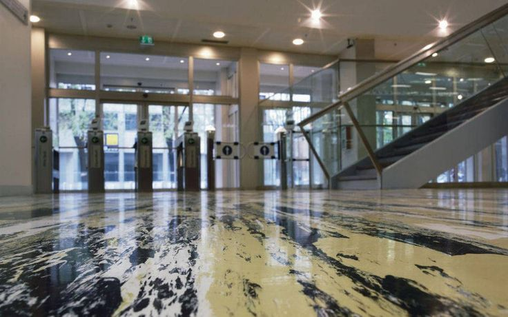 "nora Rubber Flooring Systems | Pirelli Skyscraper | noraplan vario vivace floor covering is a faithful replica of ""Giallo Fantastico"", the fantastic yellow colour from Giò Ponti, one of Milan's leading designer and architects."