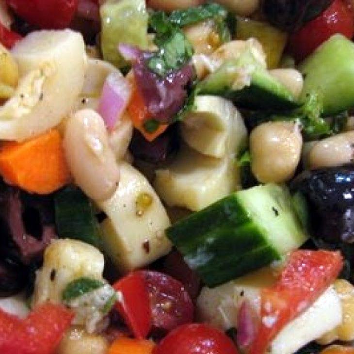 Canyon Ranch Spa: Bean Salad Recipe