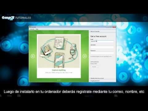 Organiza tu agenda de actividades con Evernote para Windows. Te mostramos cómo hacerlo en este tutorial en vídeo. ¡Es muy fácil! #tutoriales #evernote