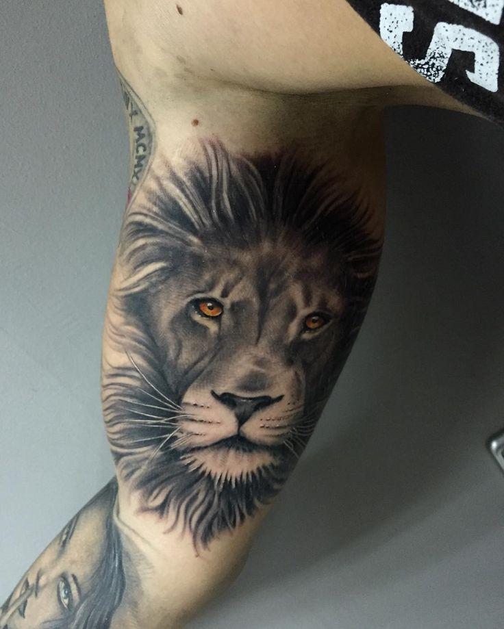 best 25 tattoo leon ideas on pinterest tatuajes de leo tatuajes laterales de brazo and. Black Bedroom Furniture Sets. Home Design Ideas