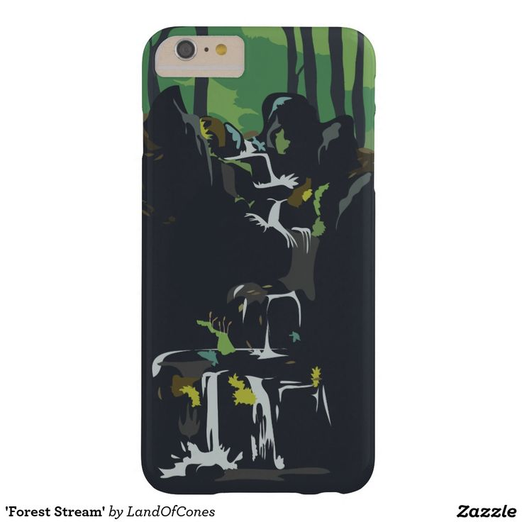 'Forest Stream' Barely There iPhone 6 Plus Case