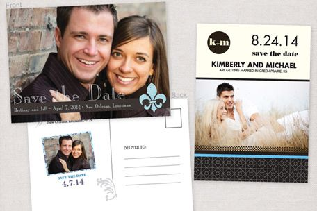 Cheap Save the Date Postcard Printing