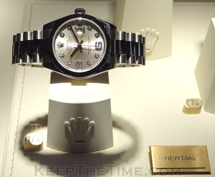 Rolex Datejust New Dial at Baselworld 2012