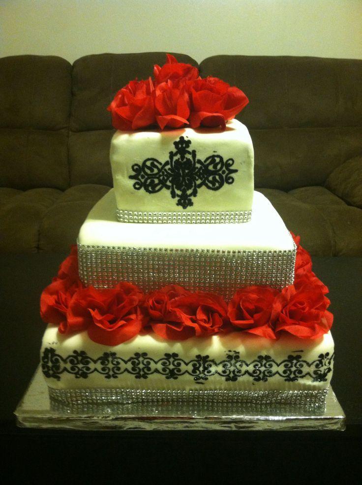 Birthday Cake Images Elegant : Elegant birthday cake My Cakes!!!! Pinterest ...