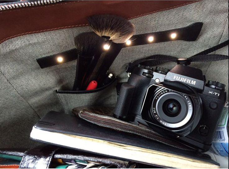 Insert your stuff,open your bag..light up your inside! #Ledemotiondesign #handbags