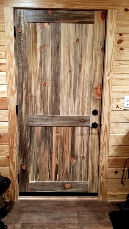 Beetle Kill Pine Interior Door From Sustainable Lumber Co