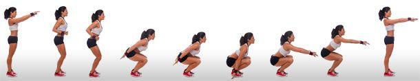 Body squats aka Hindu squats