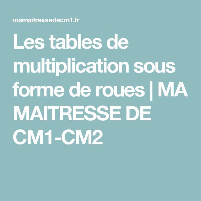 1000 id es sur le th me tables de multiplication sur for Apprendre les tables de multiplication cm2