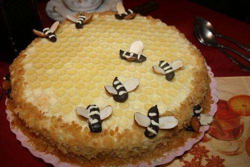 Mедовый торт / Honey cake