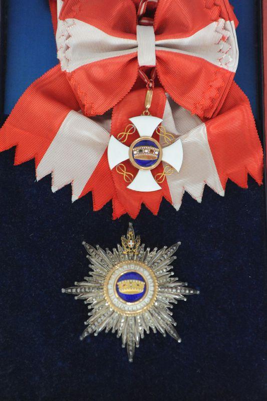 Cavaliere di Gran Croce dell'Ordine della Corona d'Italia