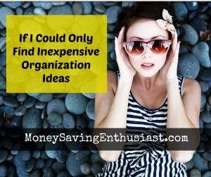 Dollar Store #Organization Ideas for Wannabe Neat Freaks #organize #dollarstore