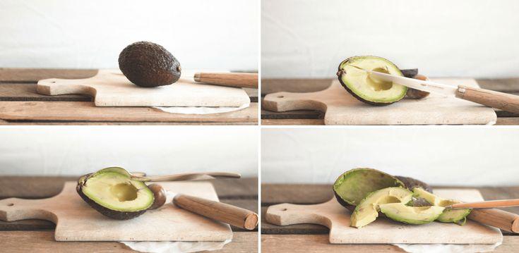 Wie Schält Man Avocado