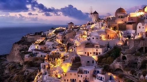 Santorini, la mejor de Europa