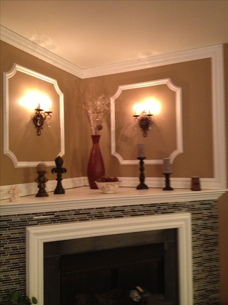 Corner fireplace decorating ideas | For the Home | Pinterest - Decorating A Corner Fireplace