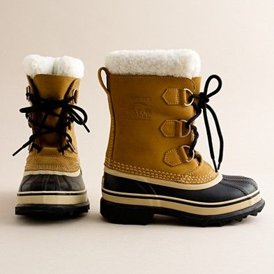 boots are a cold weather must and Harrison would look so stinking cute in them
