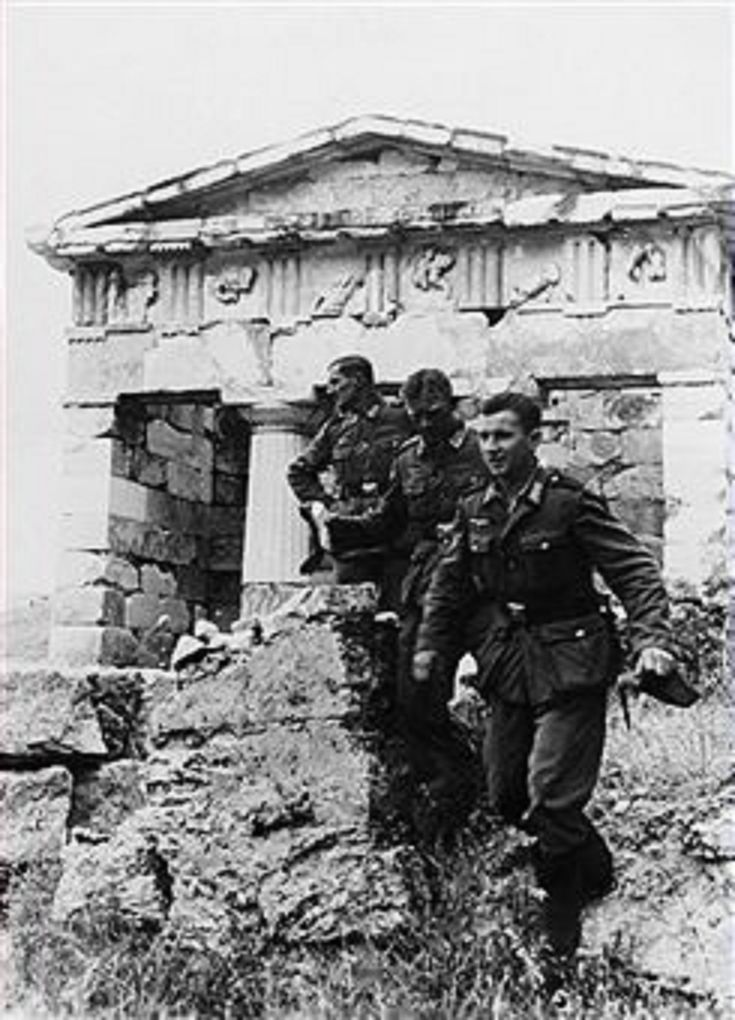 WW2 The Lost Footage: Operation Marita, Greece April 1941
