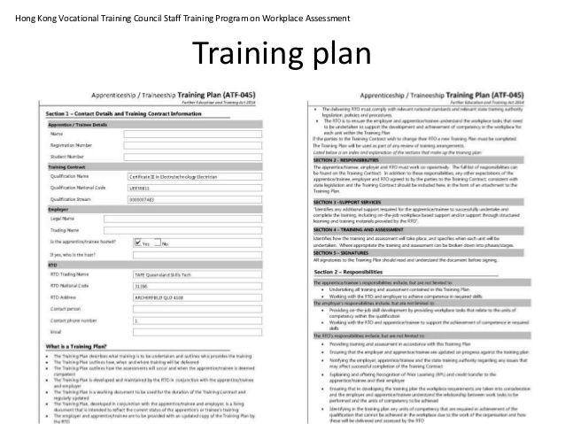 Apprentice Training Plan Template from i.pinimg.com