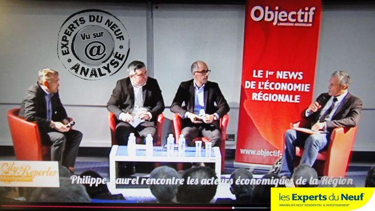 EXPERTS DU NEUF a noté la question #immobilier de Xavier Bringier au candidat Philippe Saurel à partir de 2'35'' … Et la réponse !  Dans le cadre des débats-questions aux candidats pour les régionales, organisés par Objectif Languedoc-Roussillon, et réalisé par TV Sud. C'était le jeudi 19 novembre à l' ESMA Aviation Academy http://www.tvsud.fr/article/regionales-2015-philippe-saurel-a-rencontre-des-chefs-dentreprise/CITY_PAD_191115-6