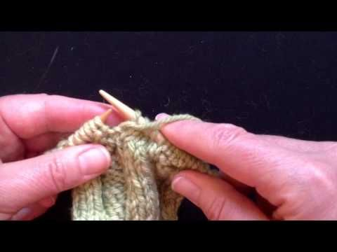 Technique Corner   Happy Stitches – twist the first purl stitch after a knit sti…