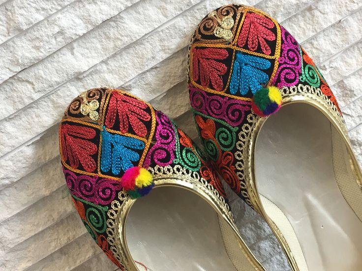 Indian shoes Leather Leather sandals Jutti Punjabi jutti