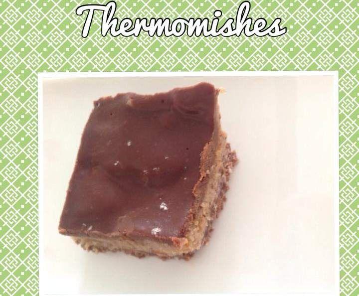 Recipe Paleo Salted Caramel Slice by Ladybeetlez - Recipe of category Desserts