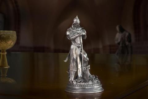Frazetta's Death Dealer 3 - 6+ Ounce Silver Statue - Silver Statues