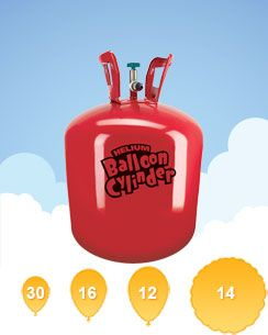 Helium Canister for 30 Balloons