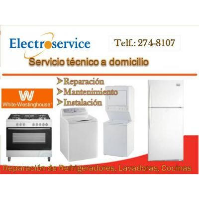 Técnico Experto, especialista en arreglar electrodomésticos. De inmediato a domicilio, Lavadoras Digitales, automáticas, Refrigeradoras No Frost, congeladoras, secadoras de ropa, cocinas, microondas, otros, de todas las marcas. Presupuesto gratuito. Atención te damos un año de garantía. Llamar al Tlf. 2748107//6687691 988036287. Atiendo las 24 horas. Srta.Isabel