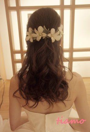 美人花嫁さまの洋装&和装スタイル♡素敵な一日 の画像|大人可愛いブライダルヘアメイク『tiamo』の結婚カタログ