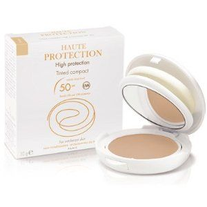 Avene High Protection Tinted Compact Beige Face Powder, 0.35 Ounce