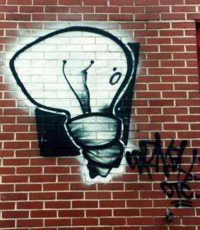 Light Bulb Graffiti