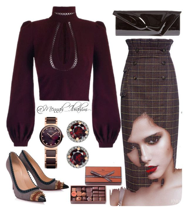 """""""#Formal #Classic"""" by mennah-ibrahim on Polyvore featuring Stella Jean, Christian Louboutin and La Maison Du Chocolat"""