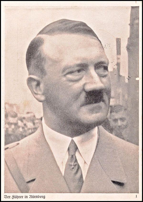 Hitler Oesterreicher Reichsparteitag 1937 Nuernberg