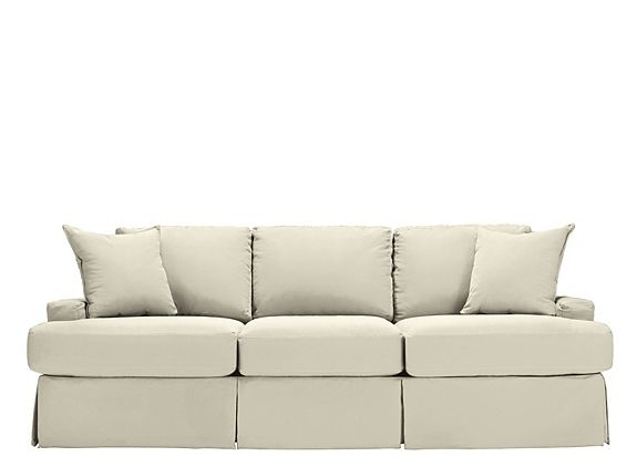 The cape may sofa from cindy crawford home delivers for Cindy crawford furniture replacement slipcovers