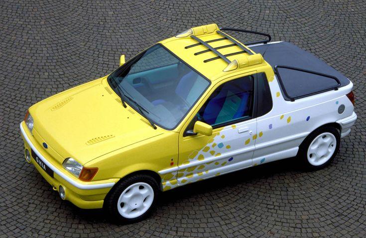 1990 Ford Fiesta Bebop (Ghia)