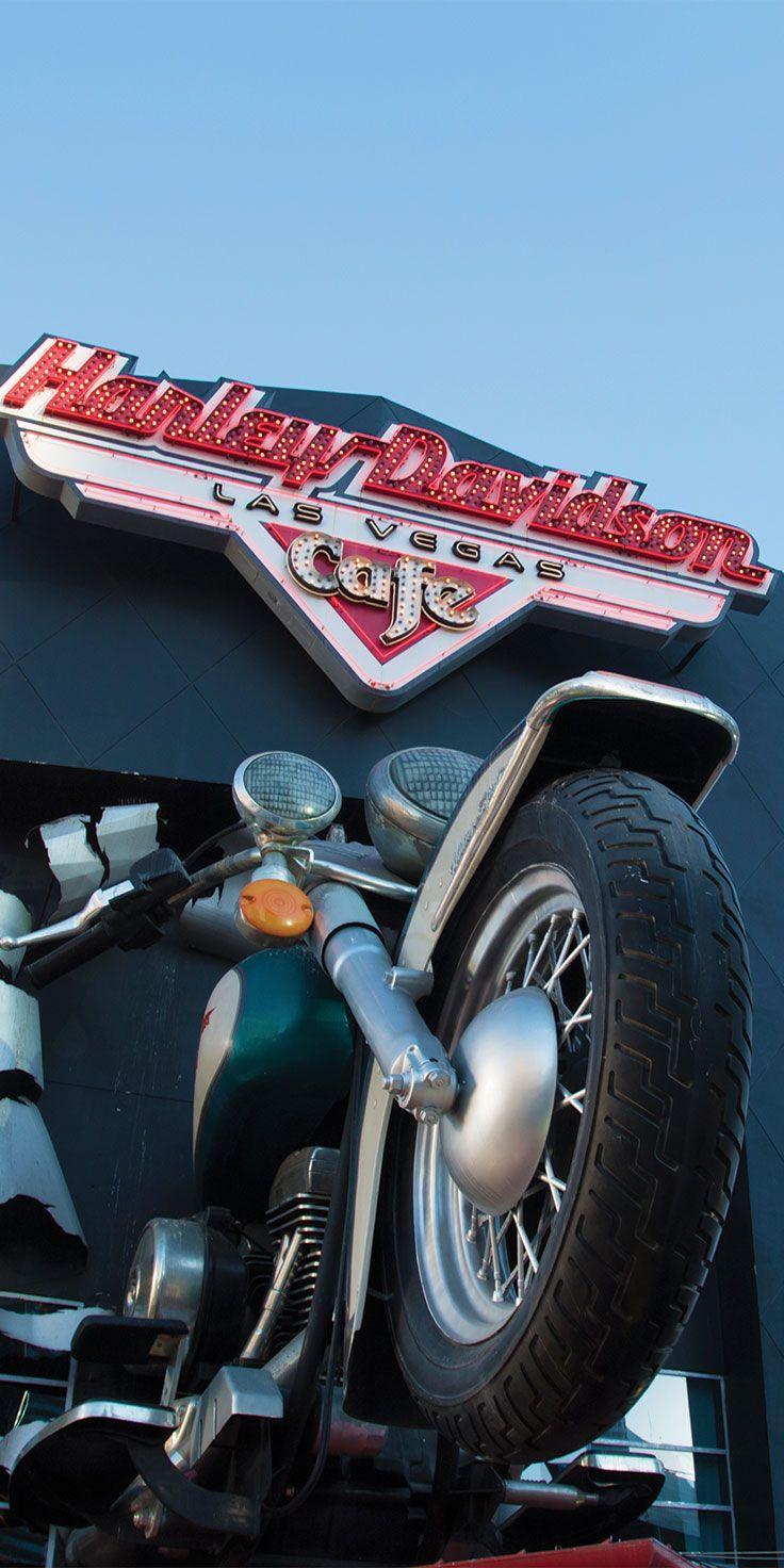 Harley Davidson Cafe in Las Vegas - by Sjana Earp