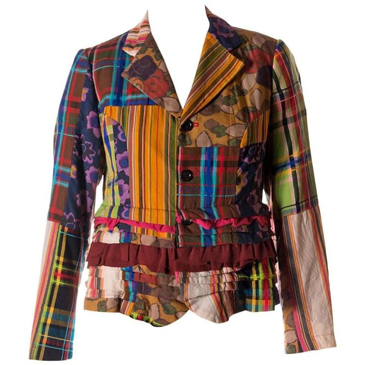 Comme Des Garcons Patchwork Jacket | From a collection of rare vintage jackets…
