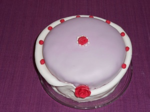 3 layer vanilla cake