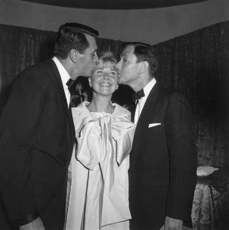 """Pillow Talk"" Premiere Rock Hudson, Doris Day, Tony Randall"
