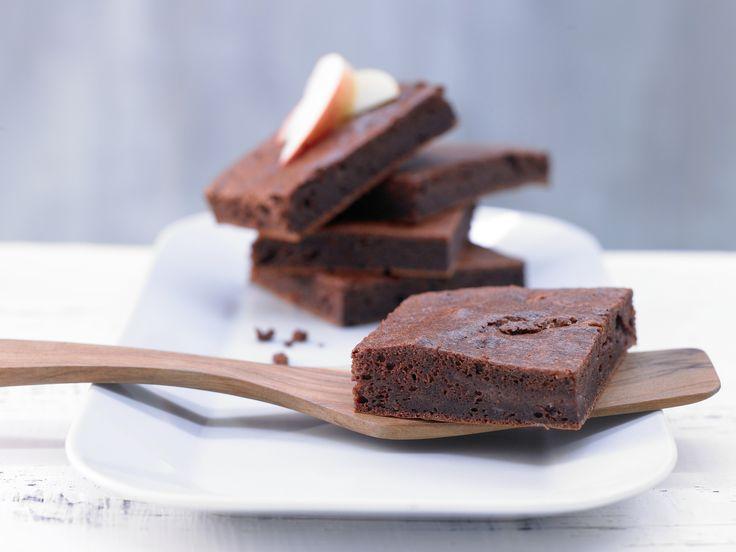 Apfel-Brownies - mit Vanille - smarter - Kalorien: 114 Kcal - Zeit: 15 Min.   eatsmarter.de