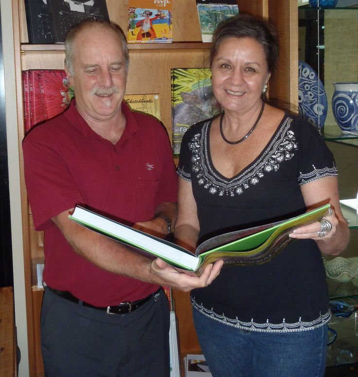 Antonia wins a prize. Presented by Mark Both - Tableland Regional Gallery