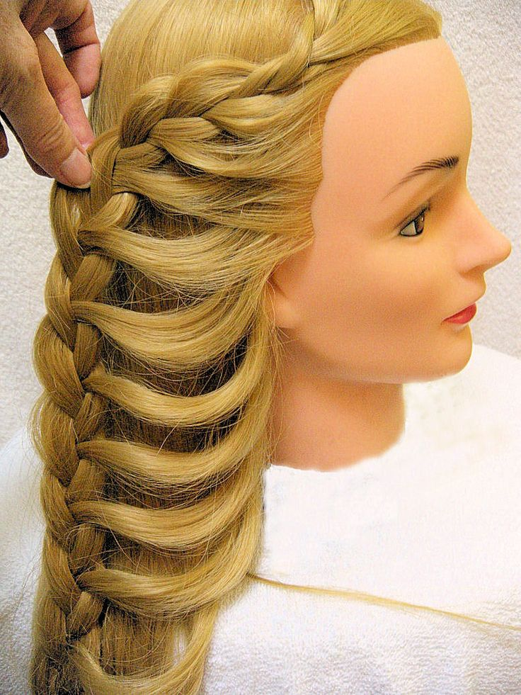 Butterfly braid pulled back girly hairstyles cool