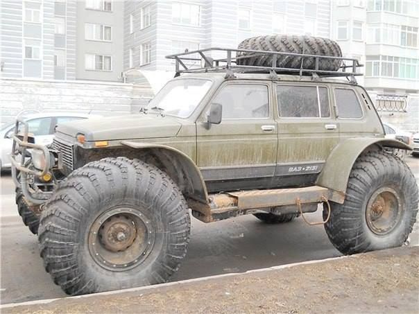 extreme Lada NIva
